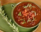 Herbed Black Bean Soup